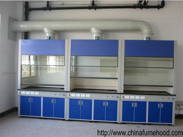 Chemstry Fume Hood Laboratory Equipment Ventilation Cabinet With Switches / Power Sockets