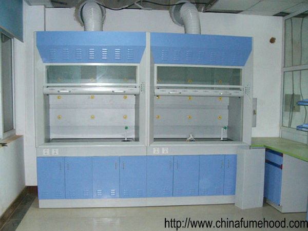 Customized Laboratory Ventilation Hoods 0.5m/S Air Volume With Cabinet