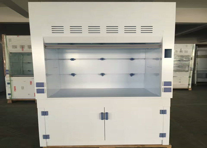 Lab Equipment PP Fume Hood Acid Resistant Full Cover Type Lamp Inside